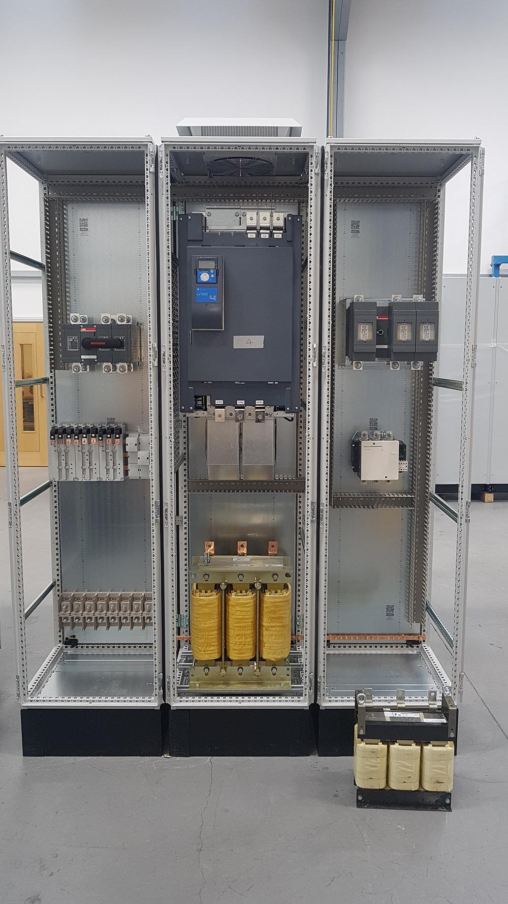 Corby Roller Table 200KW Replacement Drives