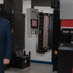 Amada CNC hydraulic break press