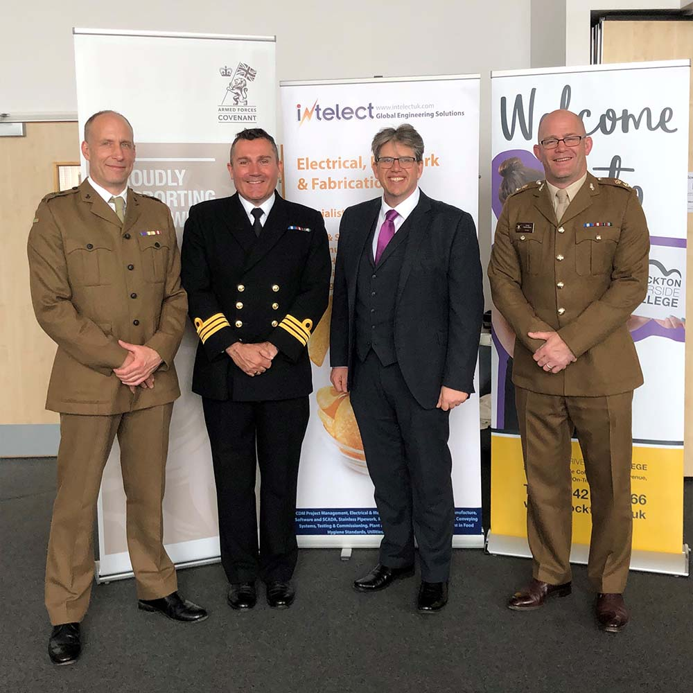 Intelect sign Armed Forces covenant to support ex-military personnel