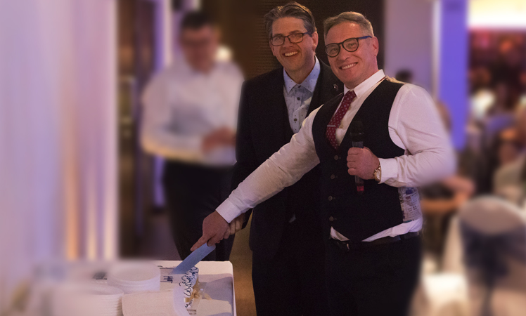 Fran Cormican & John Thompson celebrate 20 years of Intelect