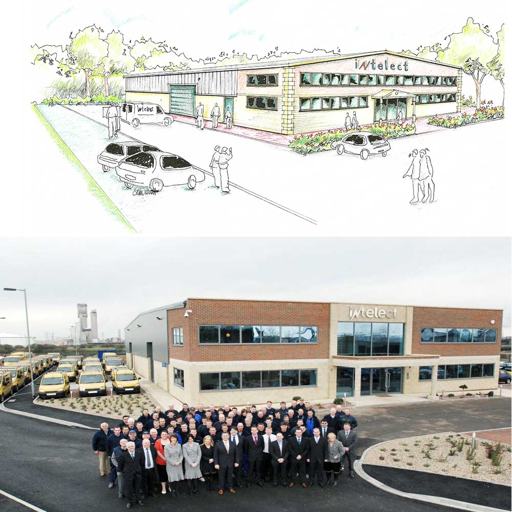 Intelect move their electrical and mechanical services into their new premises at Stephenson House, Middlesbrough.