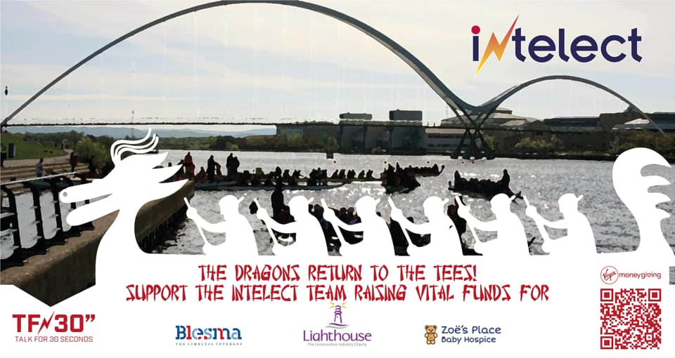 Intelect charity dragon boat race
