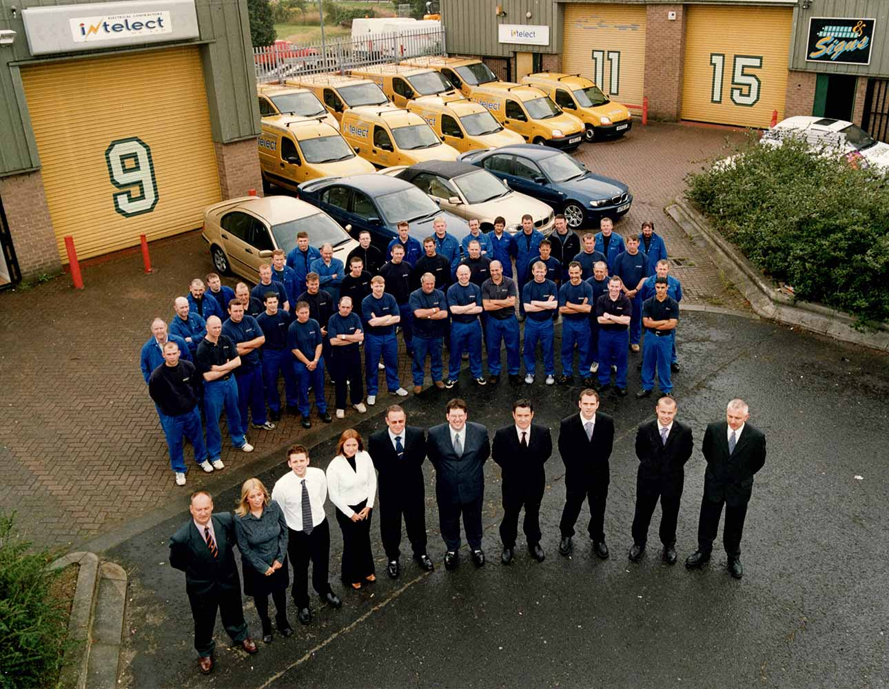 2002 Intelect moved to their new premises at Whorlton Road, Riverside Park Middlesbrough.