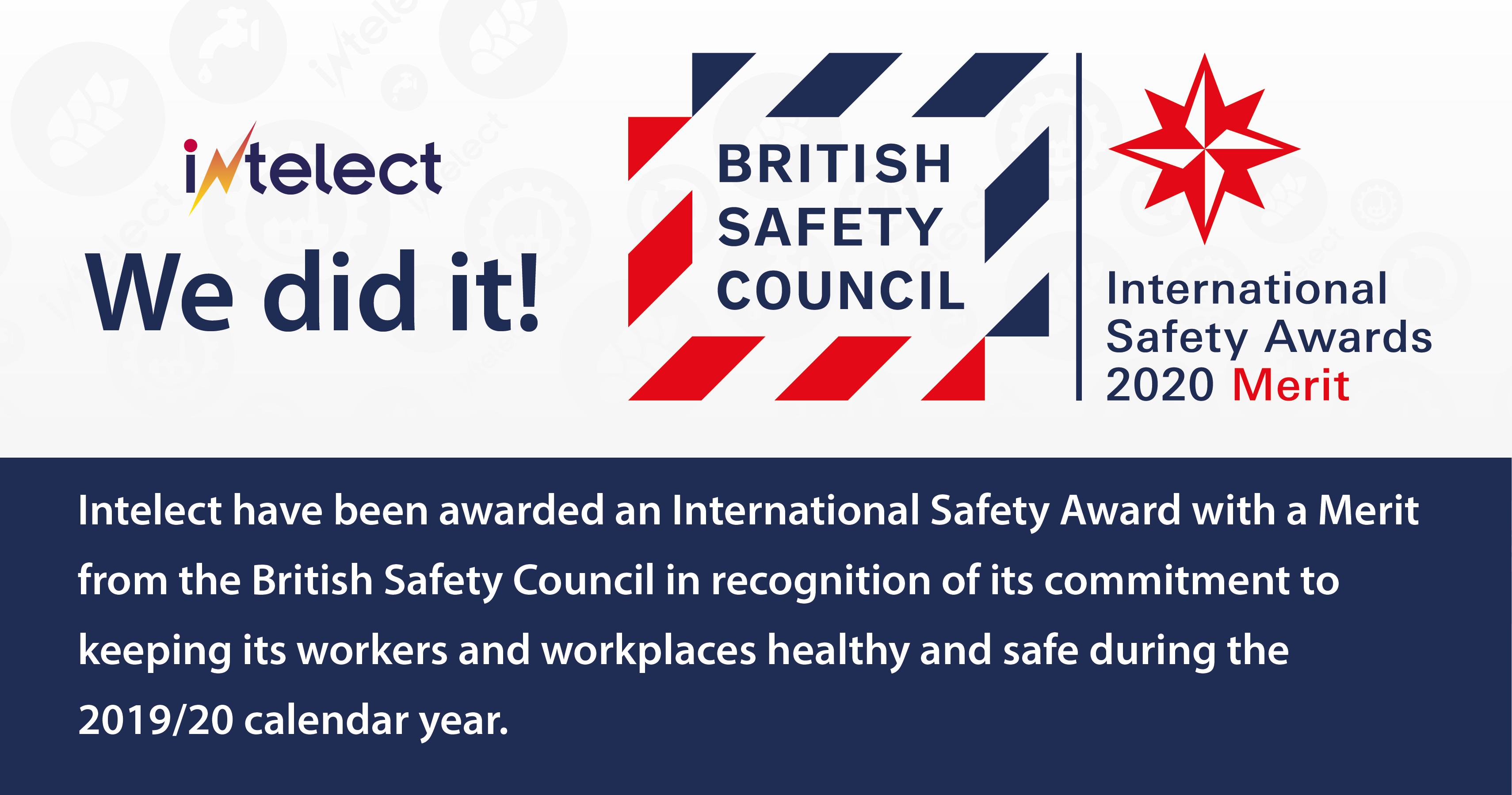 Intelect receives International Safety Award