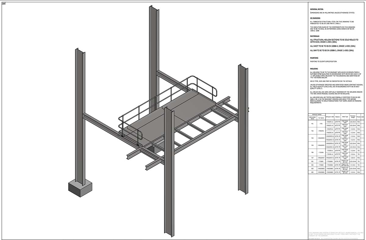 Mezzanine gantry