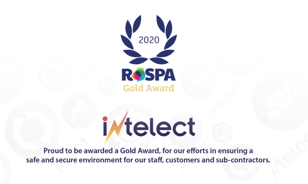 Intelect win Gold Rospa Award for safety