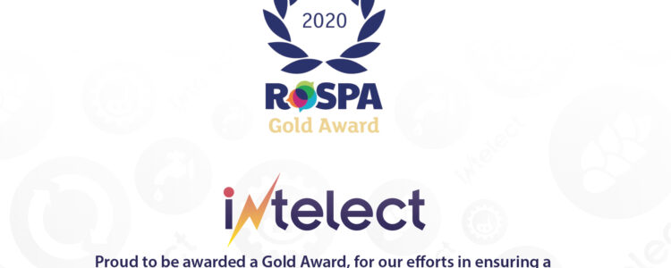 Intelect receives RoSPA Gold Award for health and safety achievements