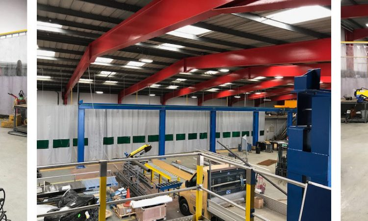 Upgrades to Intelect's Engineering workshop in Humberside