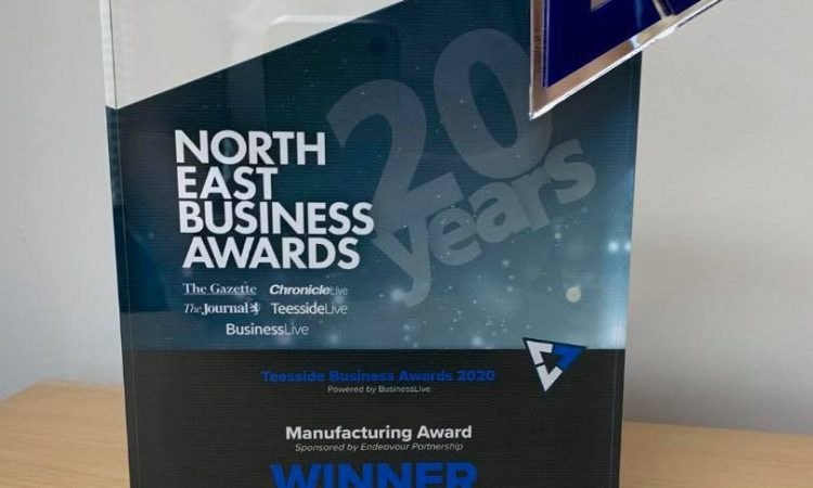 Intelect win Manufacturing Award at North East Business Awards