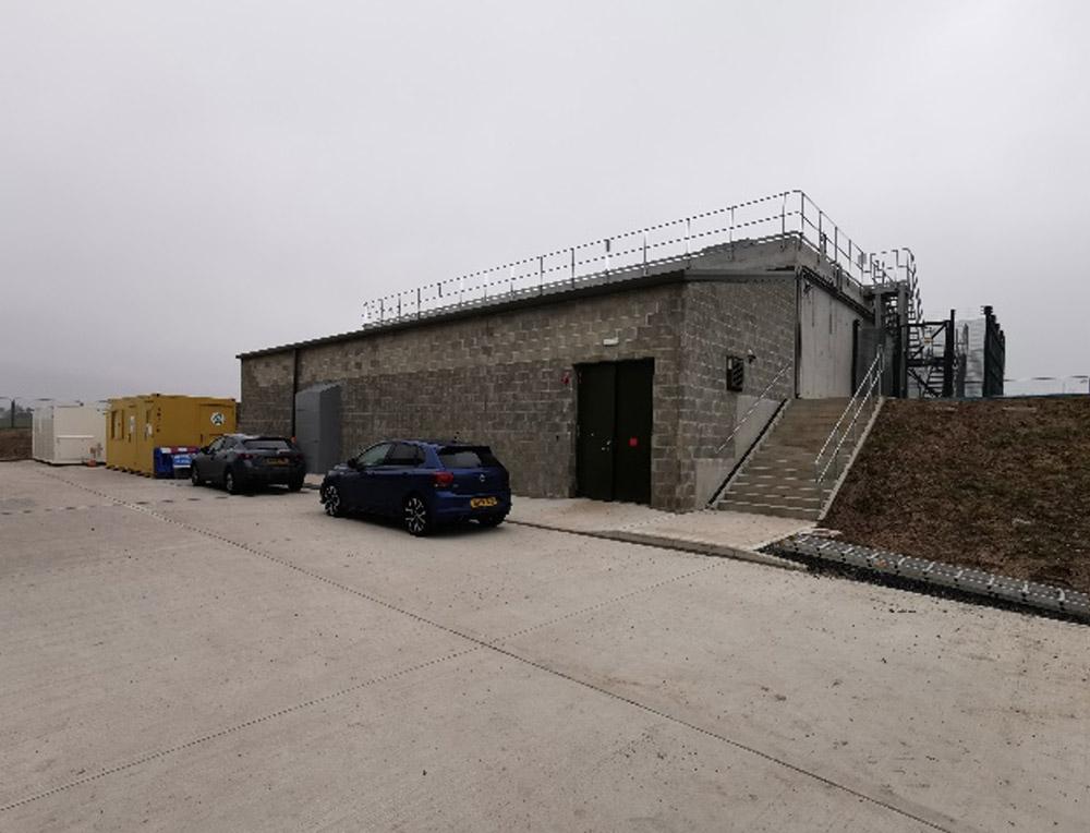 High lift pumping station
